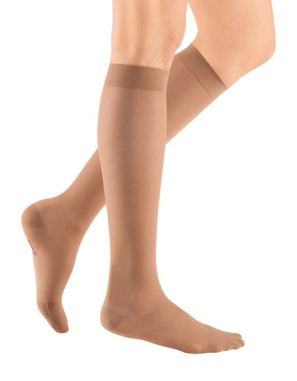 mediven sheer & soft below knee compression stockings